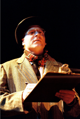 Ray Boucher in costume for a play.