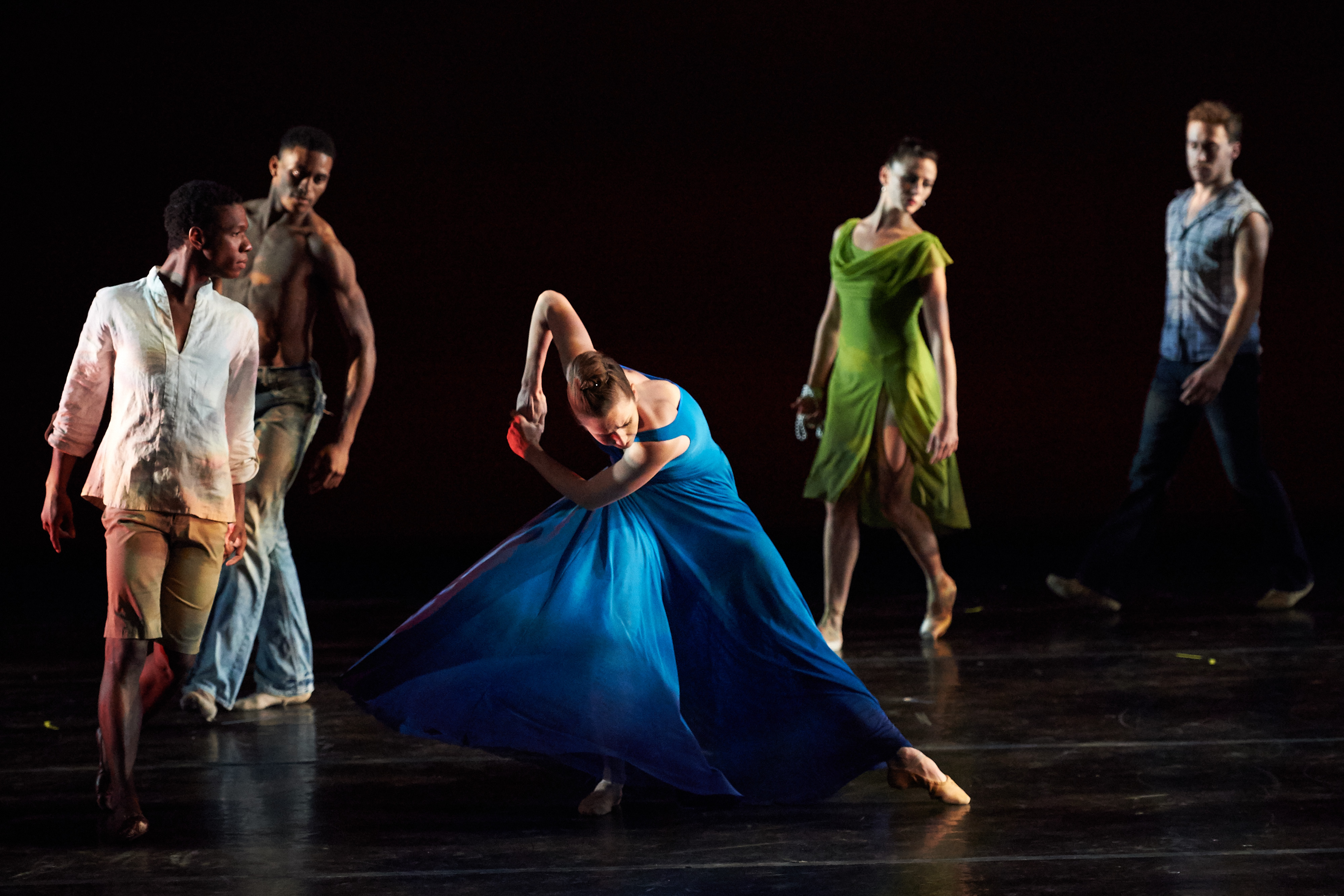 Picture of the group Ballet Memphis, performing April 14 at 7pm in Wadsworth Auditorium.