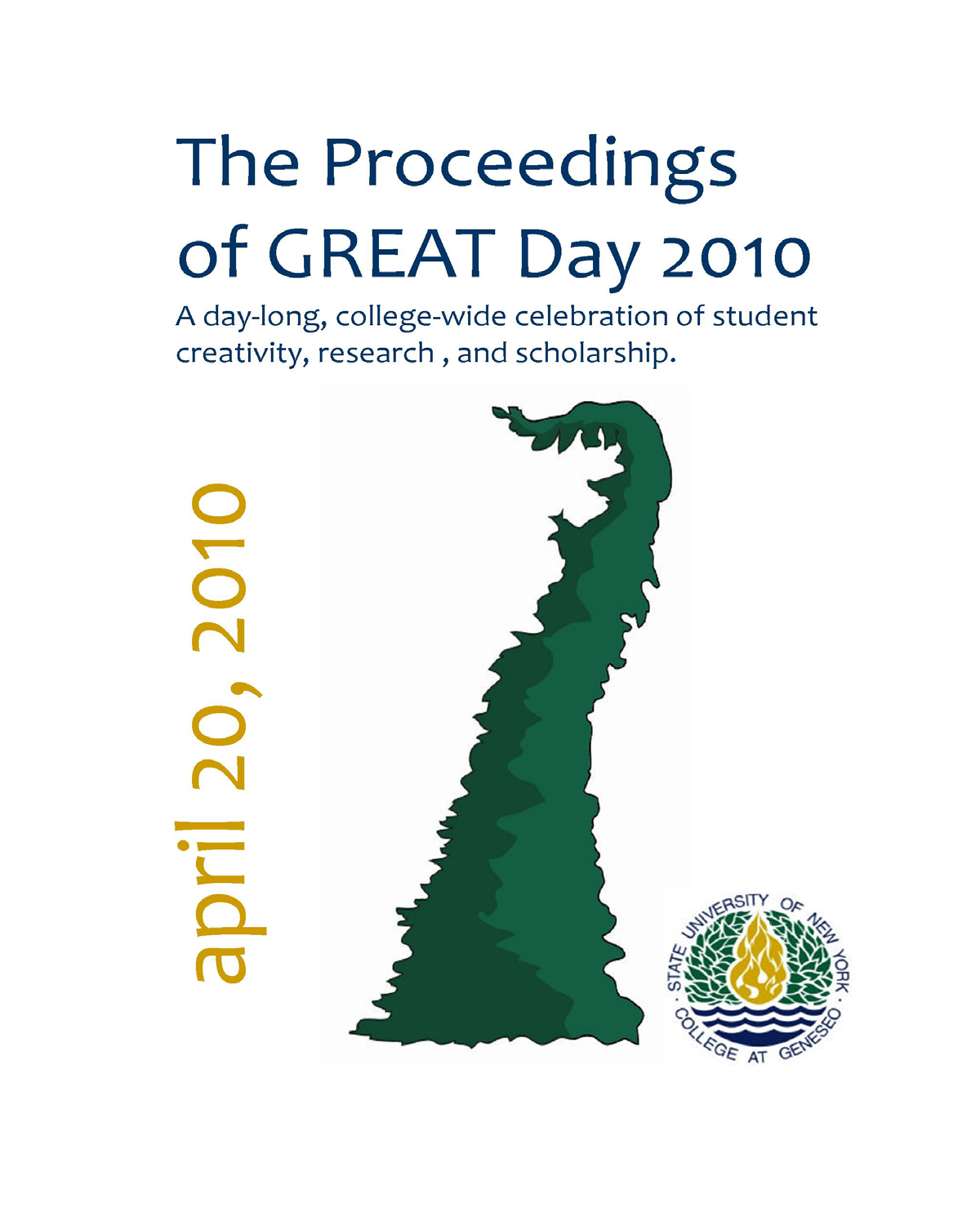 The Proceedings of Great Day: 2010