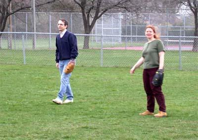 Professors playing right field