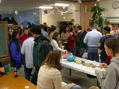 biology holiday party
