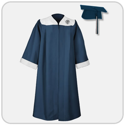 Geneseo cap and gown