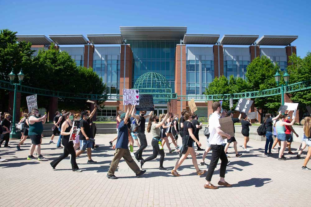 March for Black Lives on campus
