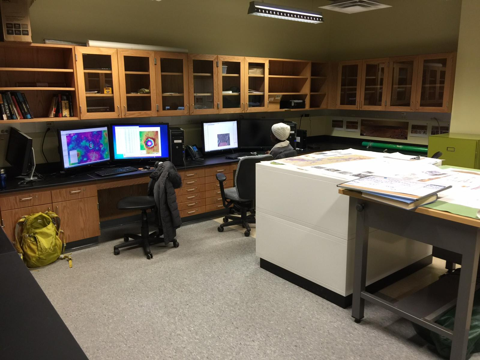 Planetary Lab, Dept. of Geological Sciences