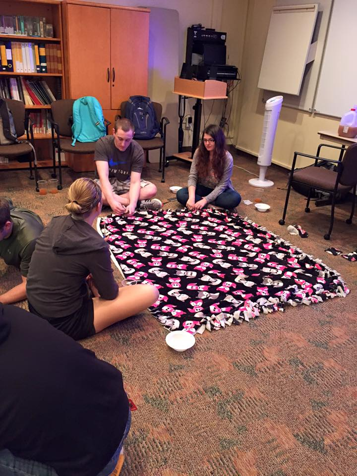 Blanket making service project