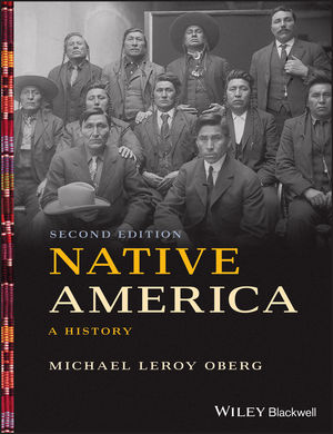 'Native America (Second Edition)' textbook cover.