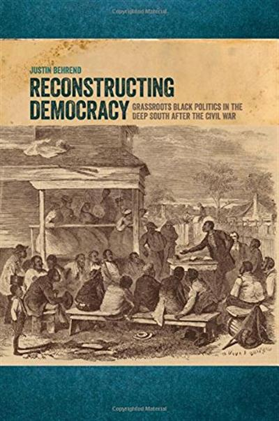 'Reconstructing Democracy' textbook cover.
