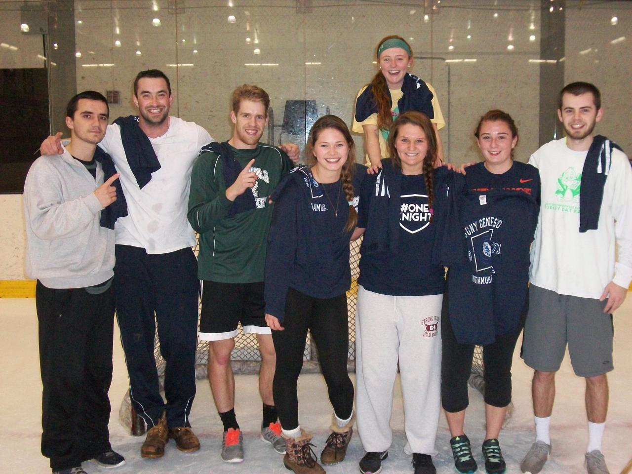 co-ed rec broomball