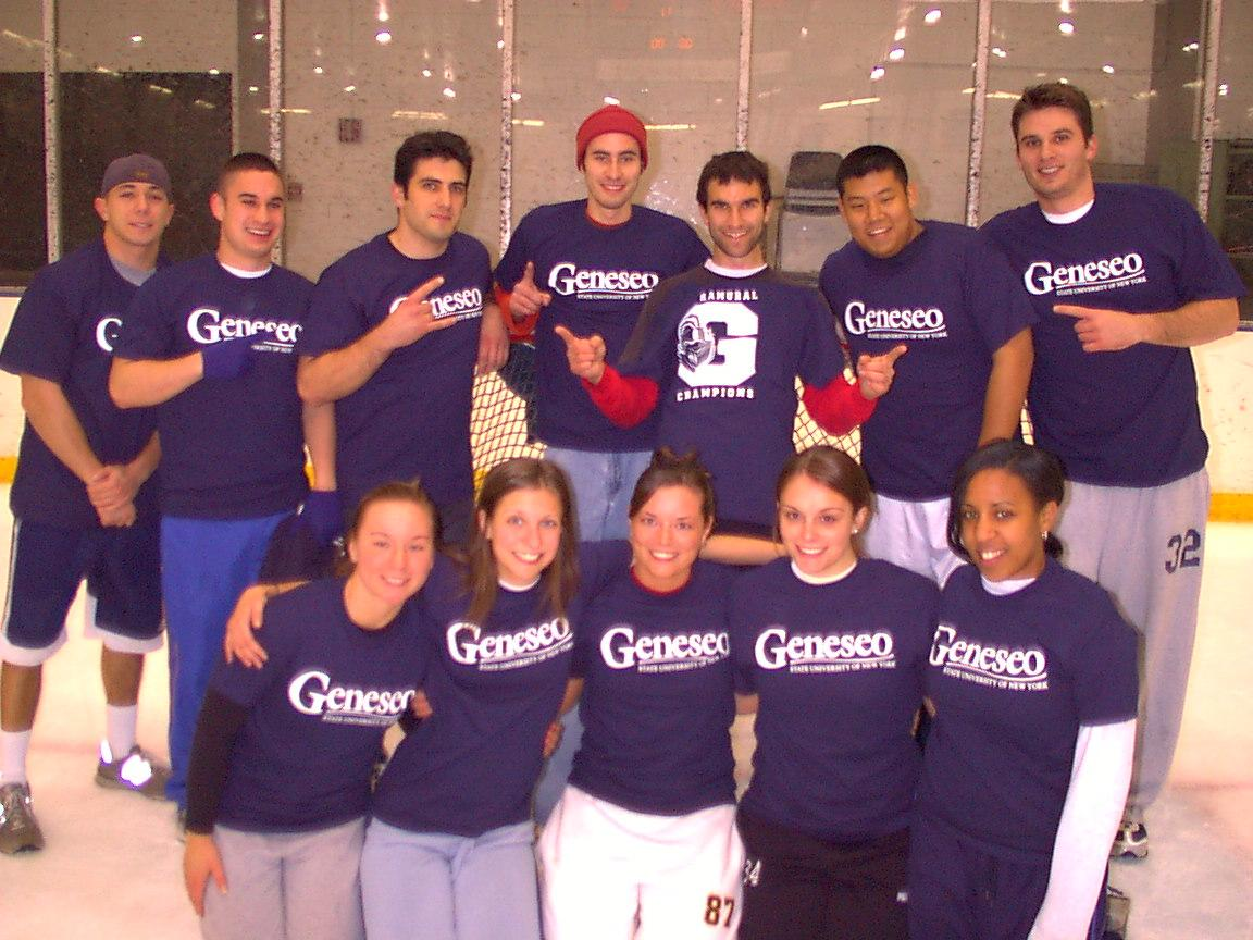 Fall 2006 Co-ed Rec. Div. 1 Broomball Champs
