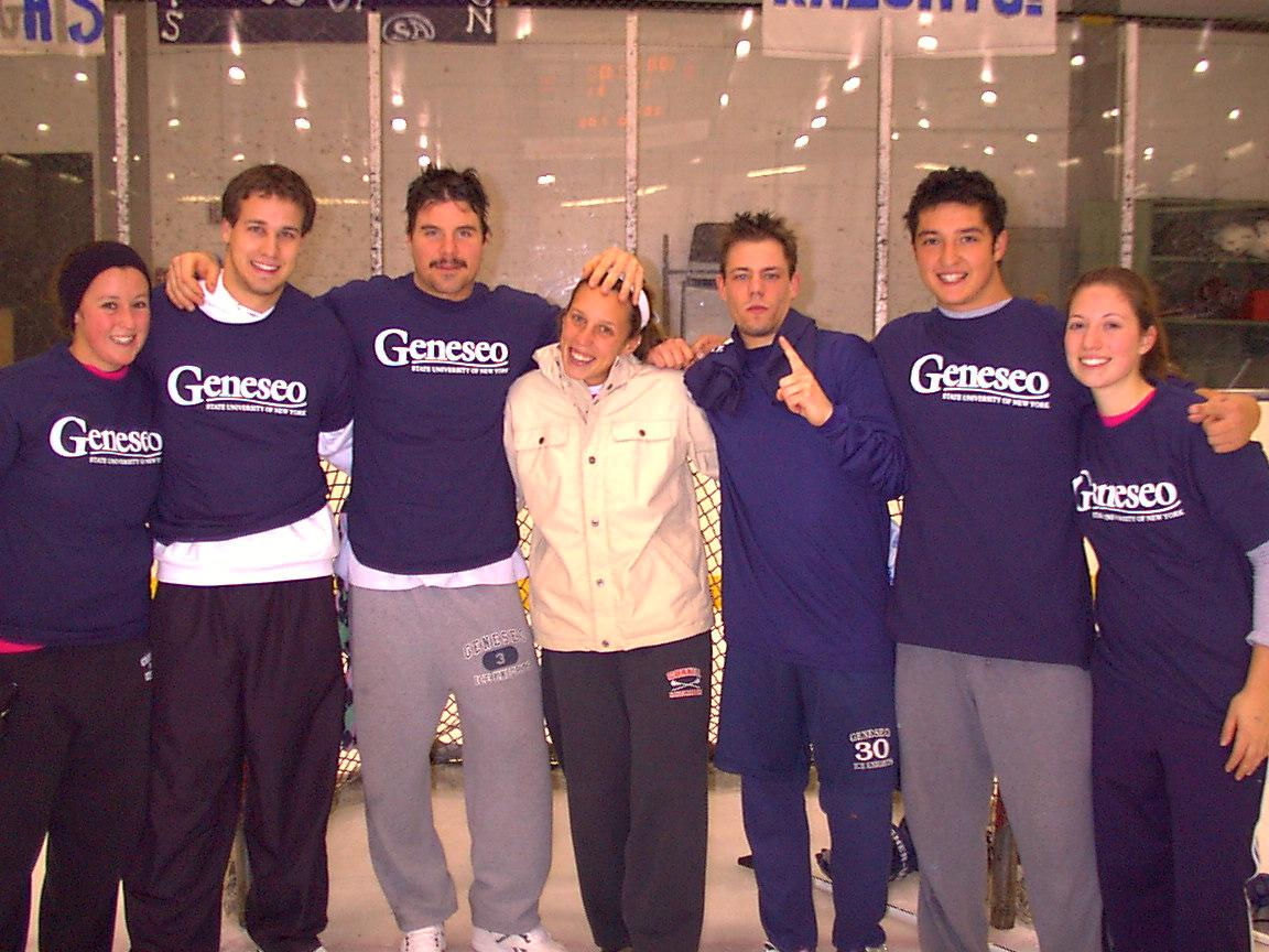 Fall 2006 Co-ed Comp. Broomball Champs