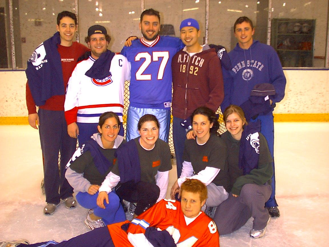 Co-ed Rec. Broomball Champs 2