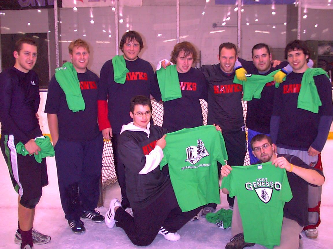 Men Broomball Champs