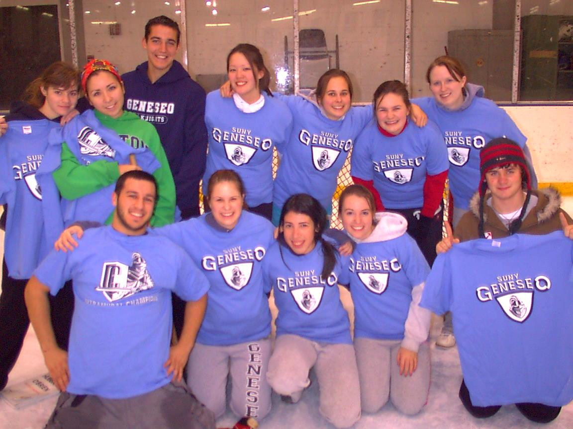 Co-ed Rec 1 Broomball Champs
