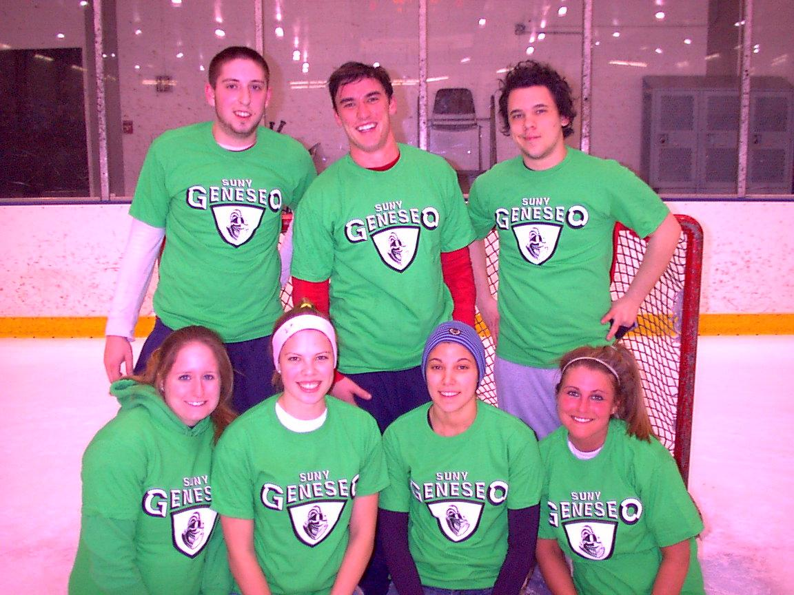Co-ed Comp. Broomball Champs