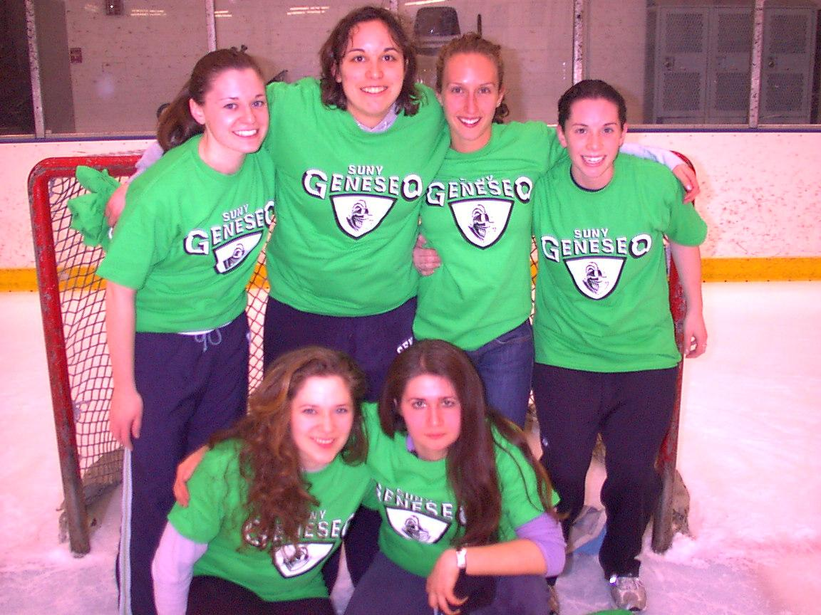 Women Broomball Champs