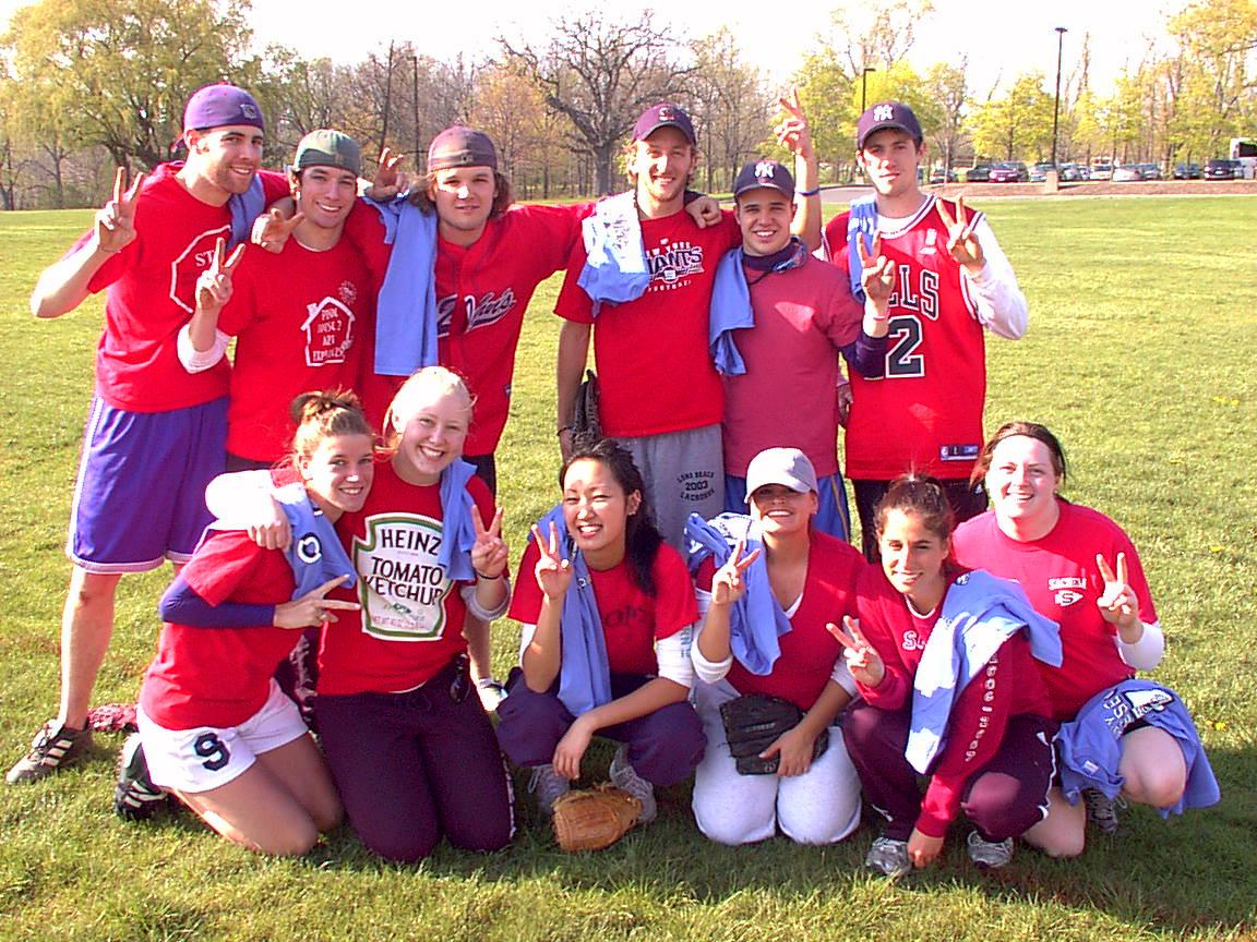 Spring 08 Softball Co-ed Champs