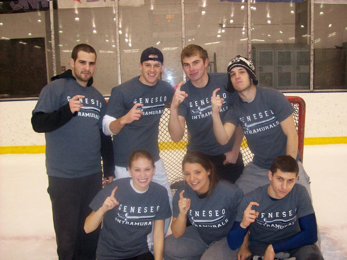 Broomball Champions Co-ed Div. 2