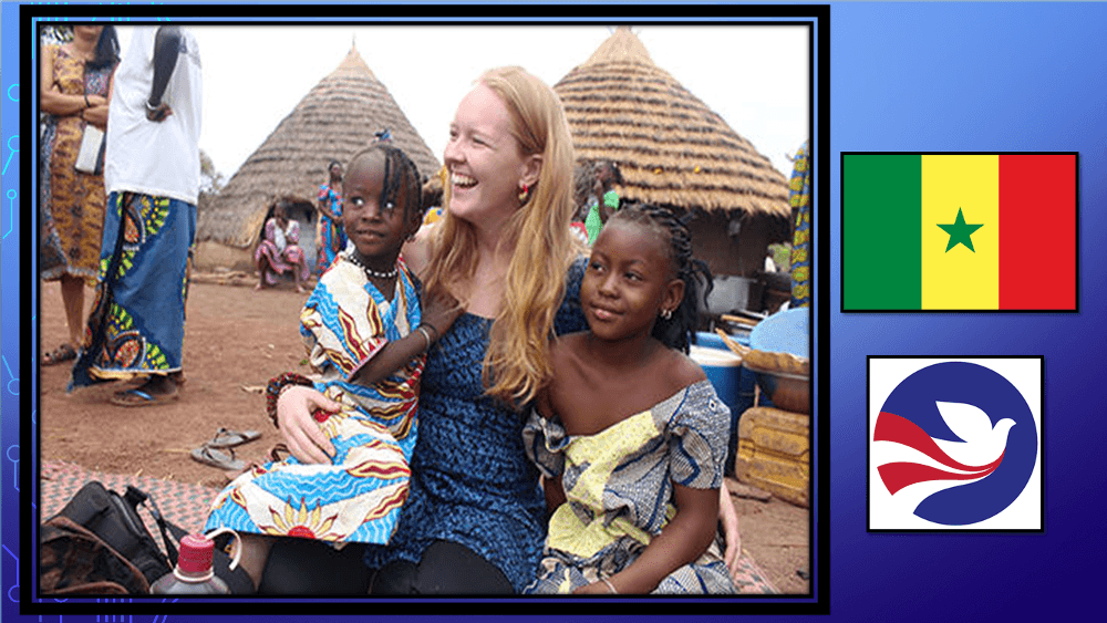 Jessica K. who is in the Peace Corps in Sénégal.