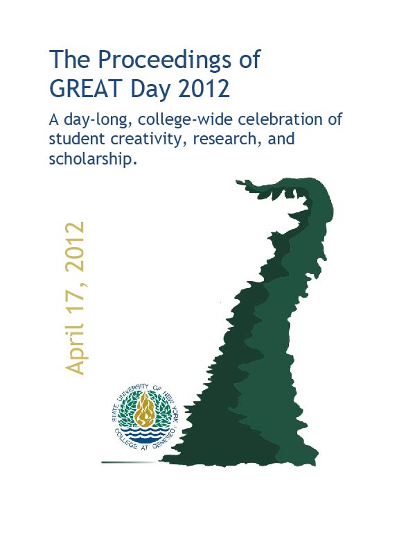 The Proceedings of Great Day: 2012