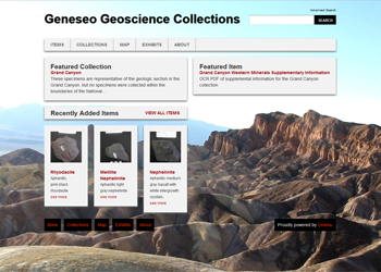 Geneseo Geosciences Collection