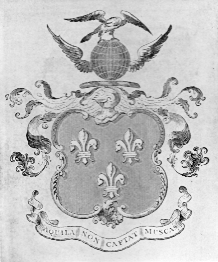 Wadsworth Coat of Arms from Special Collections Archives