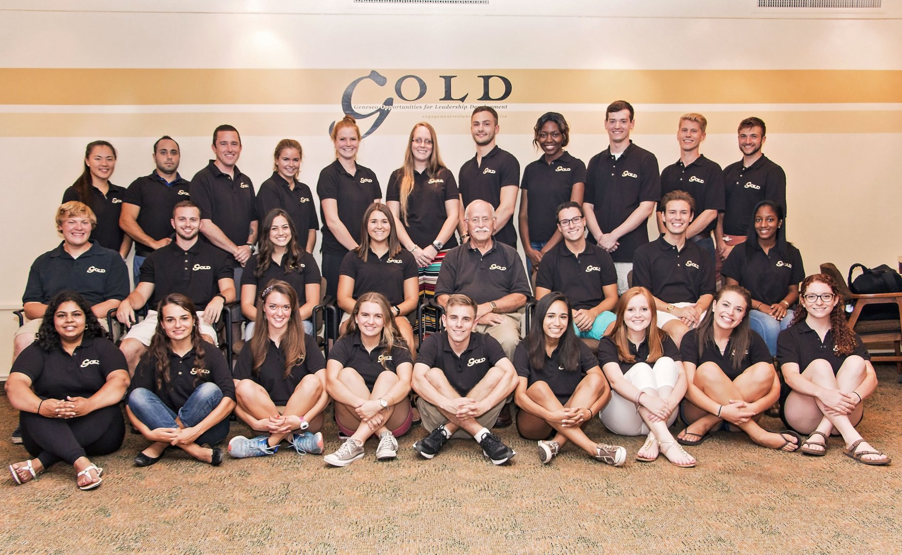GOLD leadership members