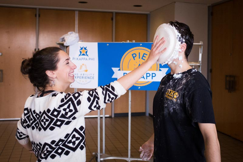 Pie a Pi-Kapp event.