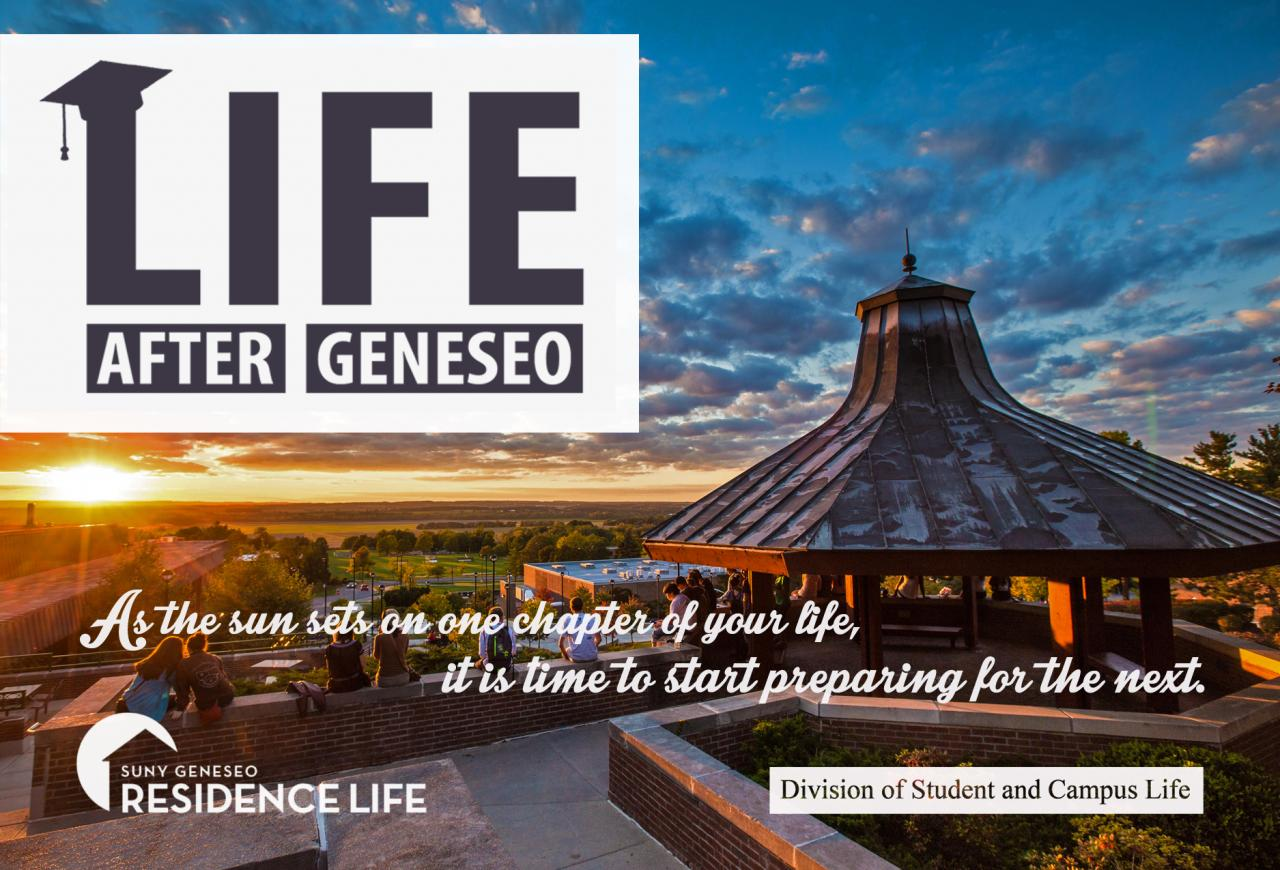 suny geneseo college application essays Suny—geneseo is a public institution that was founded in 1871 it has a total undergraduate enrollment of 5,495, its setting is rural, and the campus size is 220 acres.