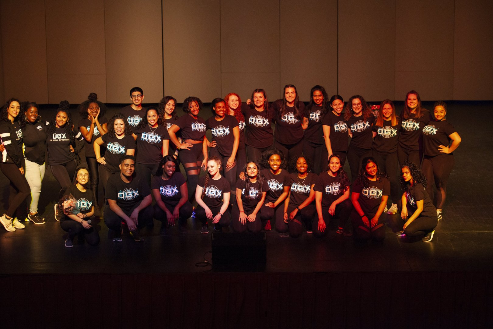 OGX at their showcase Spring 2019