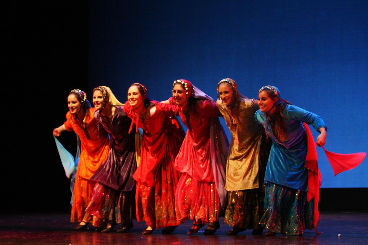 PERSIAN DANCES (2013) Staged by Jonette Lancos with Shahin Monshipour, Cultural Anthropologist