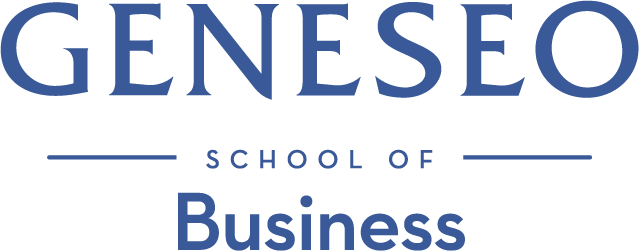SUNY Geneseo School of Business Logo