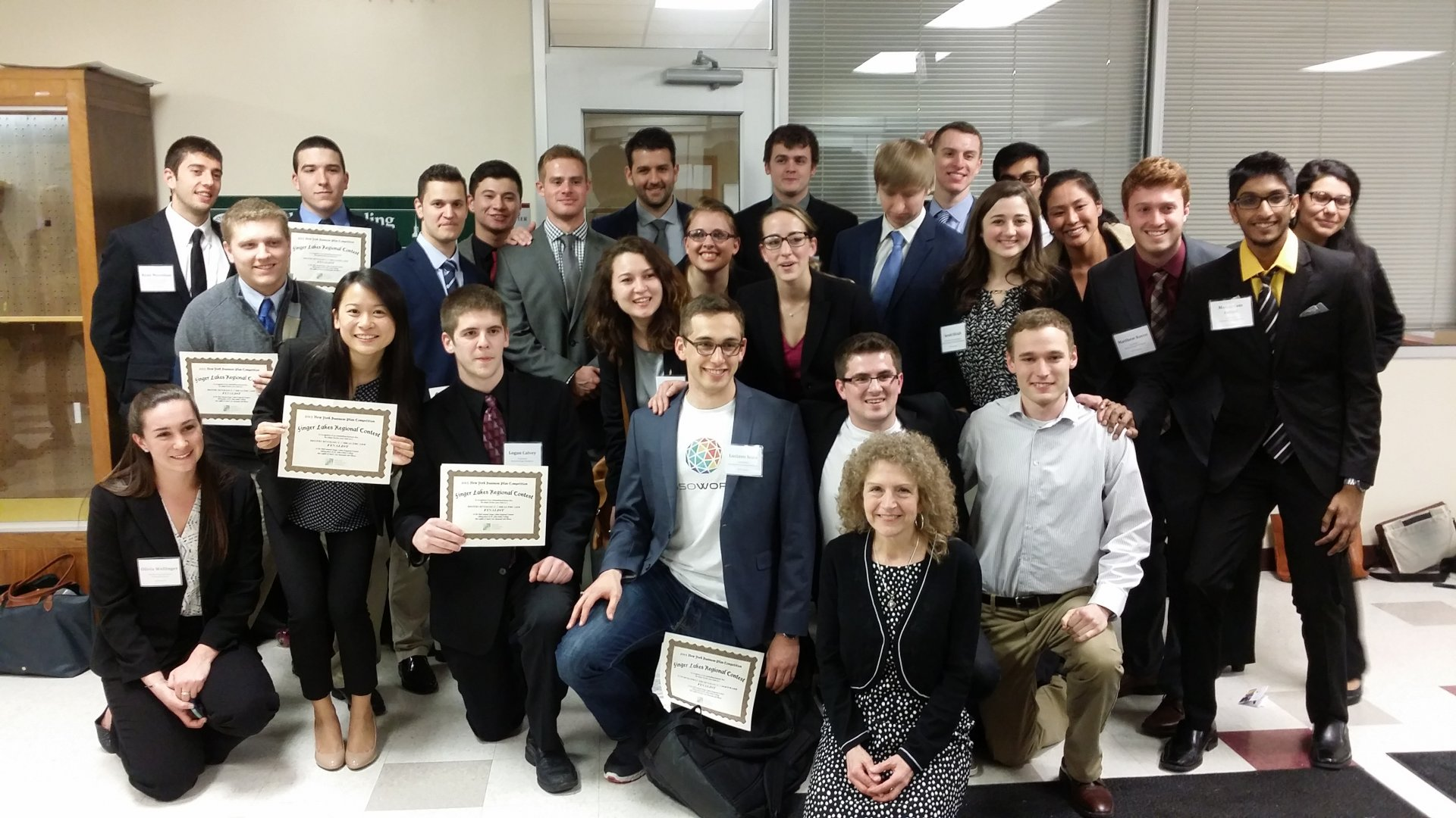 April 2015: NYBPC Regionals, hosted by Saint John Fisher College