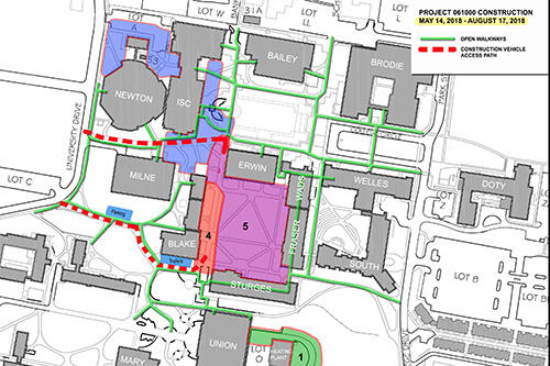 Construction Update: Sturges Quad to Be Completed, Other Projects ...