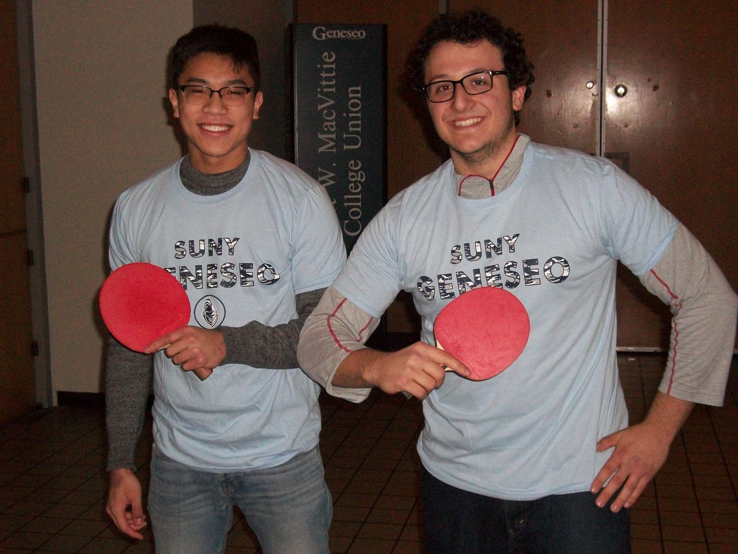 mens double ping pong