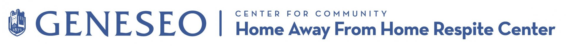 Geneseo Home Away From Home Respite Center Logo