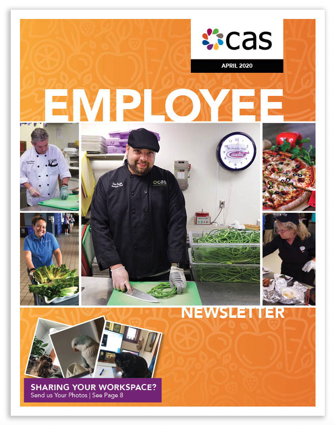 April 2020 Newsletter - click image to access newsletter