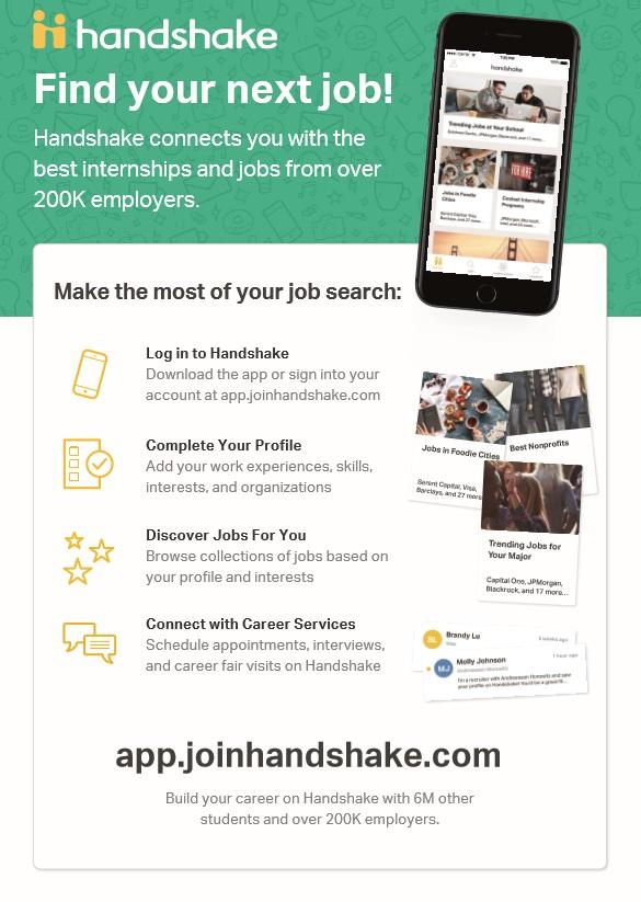 Handshake Student & Alumni Implementation   SUNY Geneseo