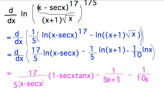 Geneseo Math 222 01 Natural Logarithm